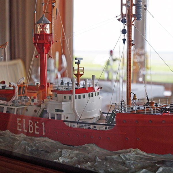 The Elbe1 in the restaurant Sterneck